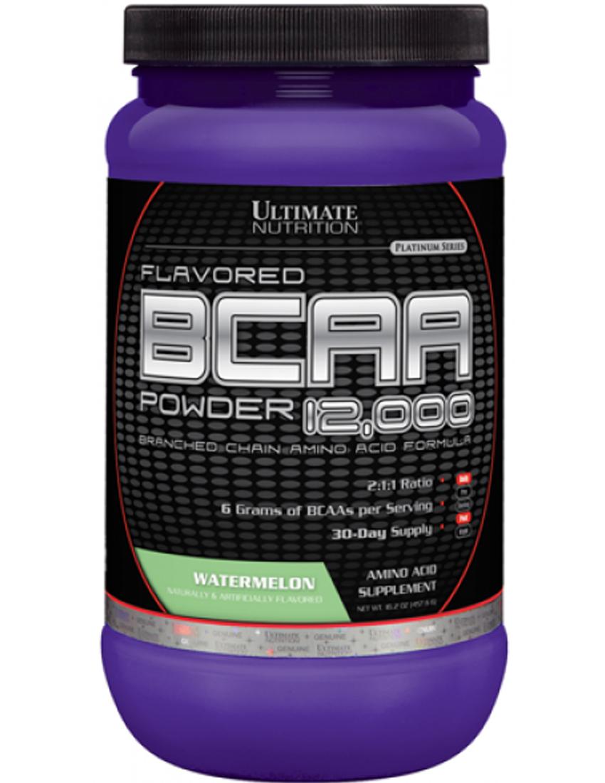 купить ultimate nutrition flavored bcaa 12000 457 г вишня