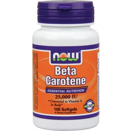 NOW Beta Carotene 25000 IU