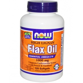 NOW Organic Flax Oil