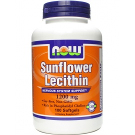 Sunflower Lecithin от NOW