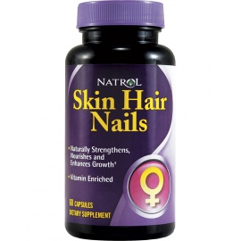 Natrol Skin Hair Nails Women`s