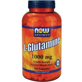 NOW L-Glutamine 1000 mg