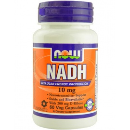 NOW NADH 10 mg