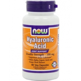 NOW Hyaluronic Acid Double Strength