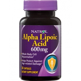 Natrol Alpha Lipoic Acid 600 mg