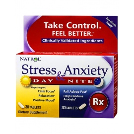 Stress & Anxiety Day & Night от Natrol