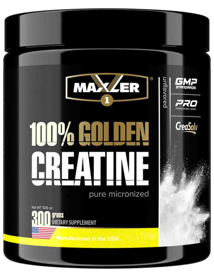 Креатин Maxler 100% Golden Creatine 300  гр.