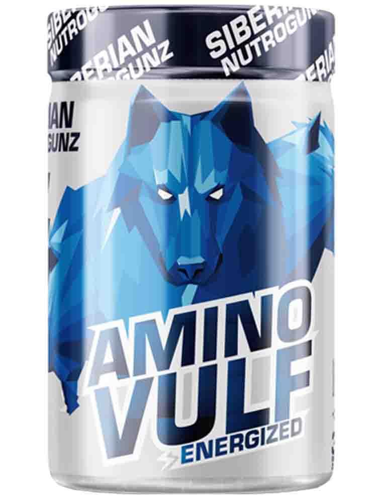 Аминокислоты Siberian Nutrogunz Amino Vulf Energized 225 гр. экзотик