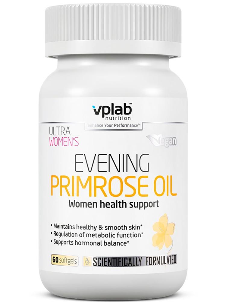 Жирные кислоты VPLab Nutrition Ultra Womens Evening Primrose oil 60 капс.