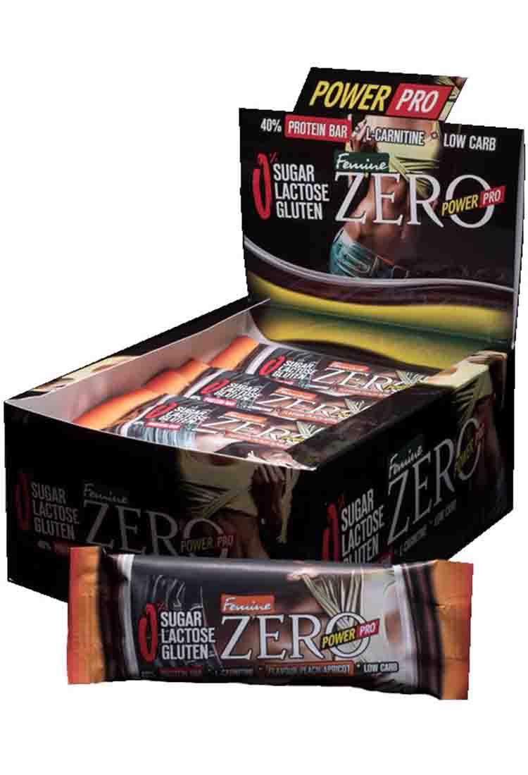 Протеиновые батончики POWER PRO Батончик протеиновый Zero Femine 50 гр. банановый йогурт