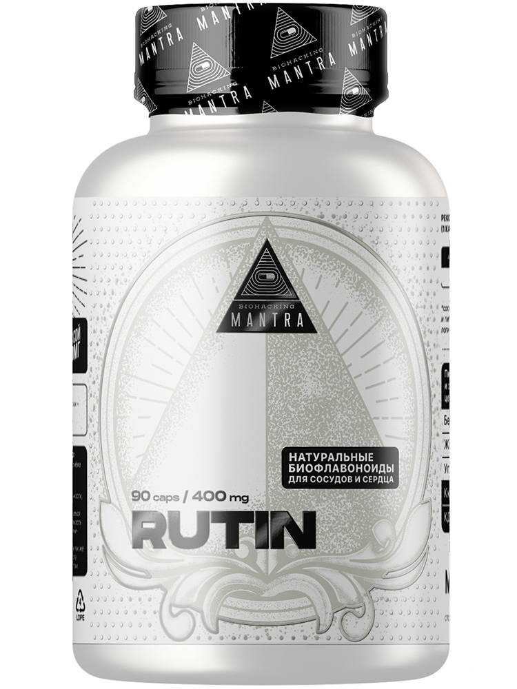 Биодобавки Biohacking Mantra RUTIN 90 капс.