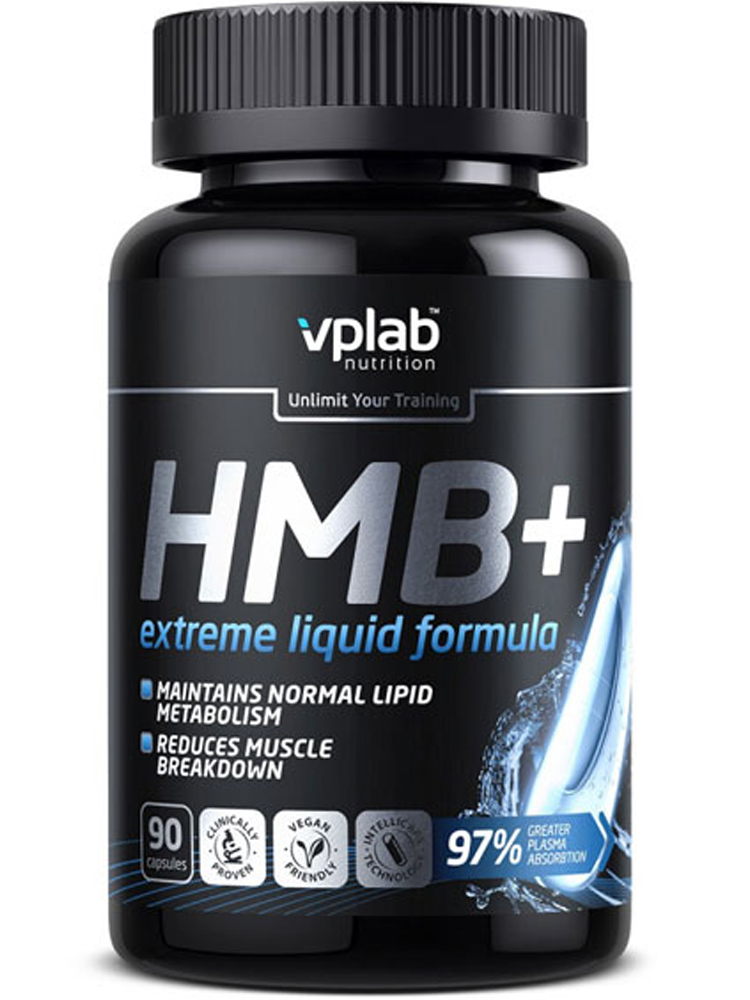 Повышение тестостерона, либидо и гормона роста VPLab Nutrition HMB 90 капс.