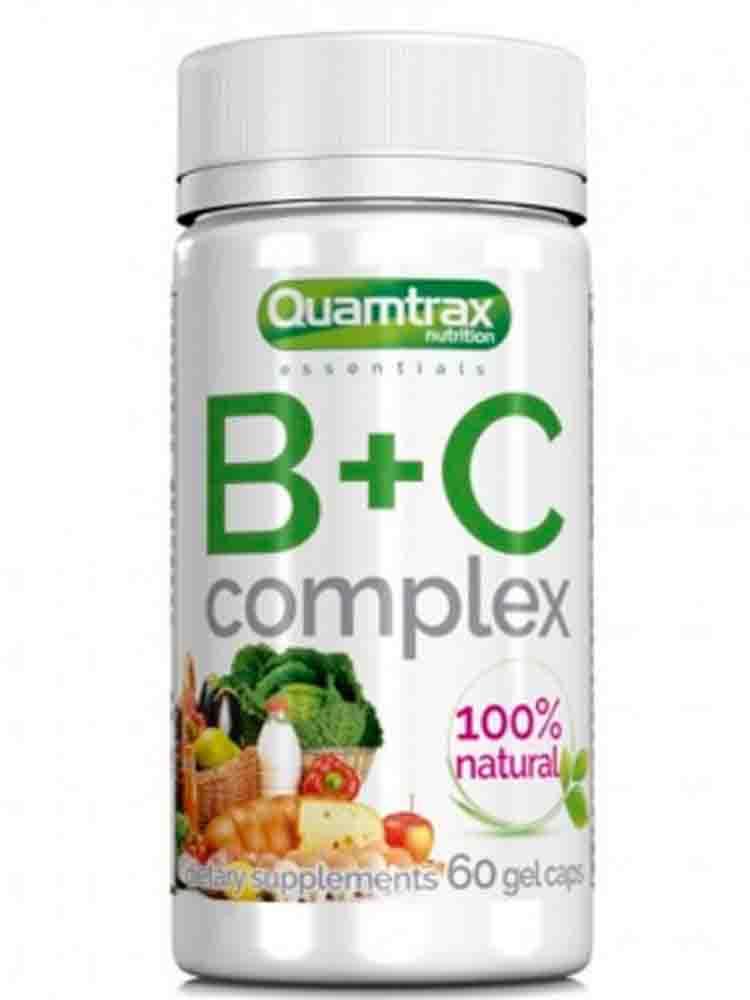 Витамины группы B Quamtrax B+C Complex 60 гел.капс.