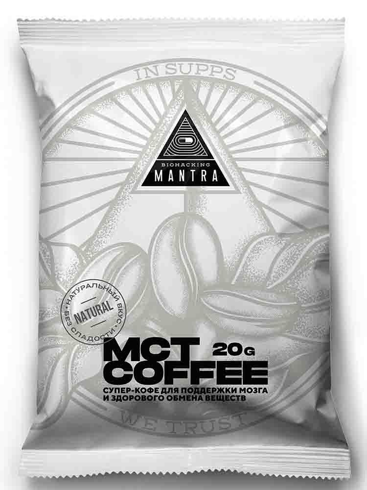 Энергетики Biohacking Mantra Coffee Sweet 20 гр.