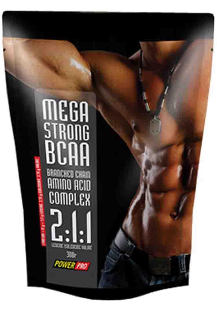 BCAA POWER PRO BCAA 2:1:1 Mega Strong 300  гр. нейтральный