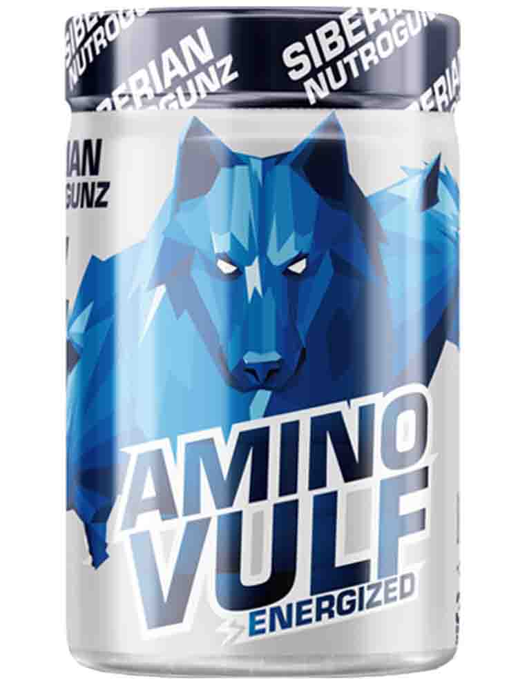 Аминокислоты Siberian Nutrogunz Amino Vulf Energized 225 гр. киви
