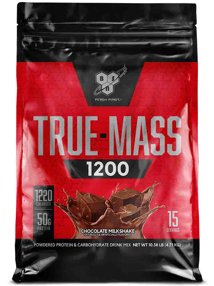 Гейнеры BSN True-Mass 1200 4650 гр. шоколад