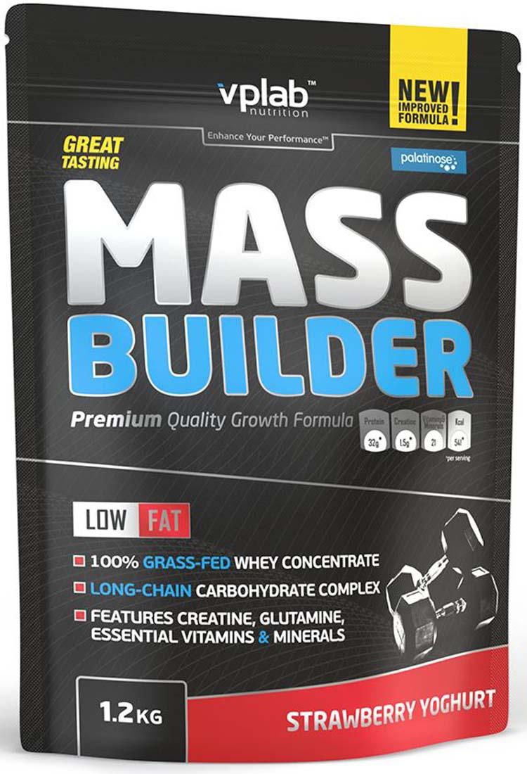 Гейнеры VPLab Nutrition Mass Builder 1200 гр. печенье-крем