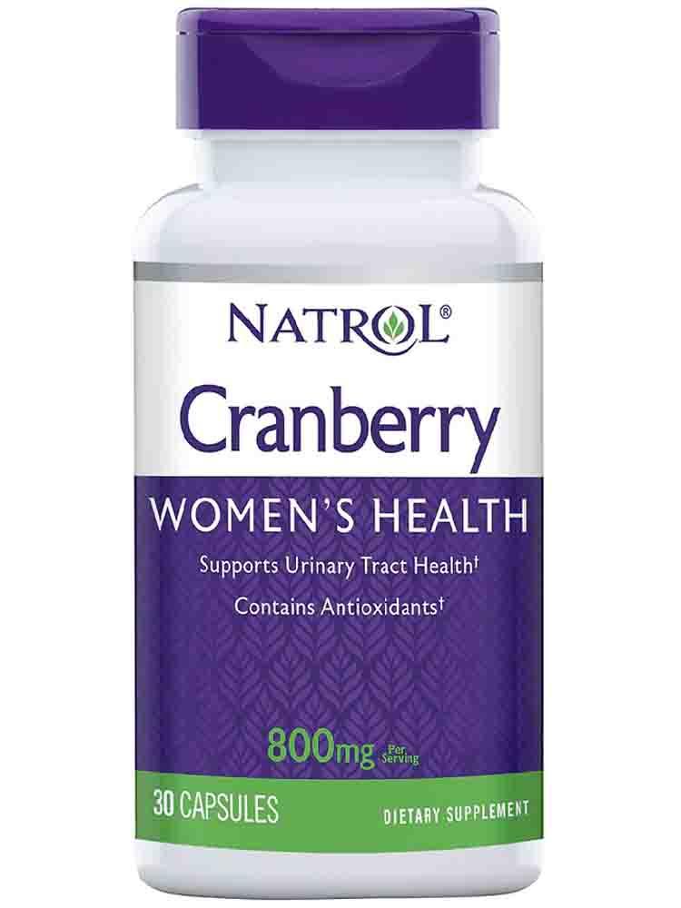 Биодобавки Natrol Cranberry Extract 800 mg 30 капс.