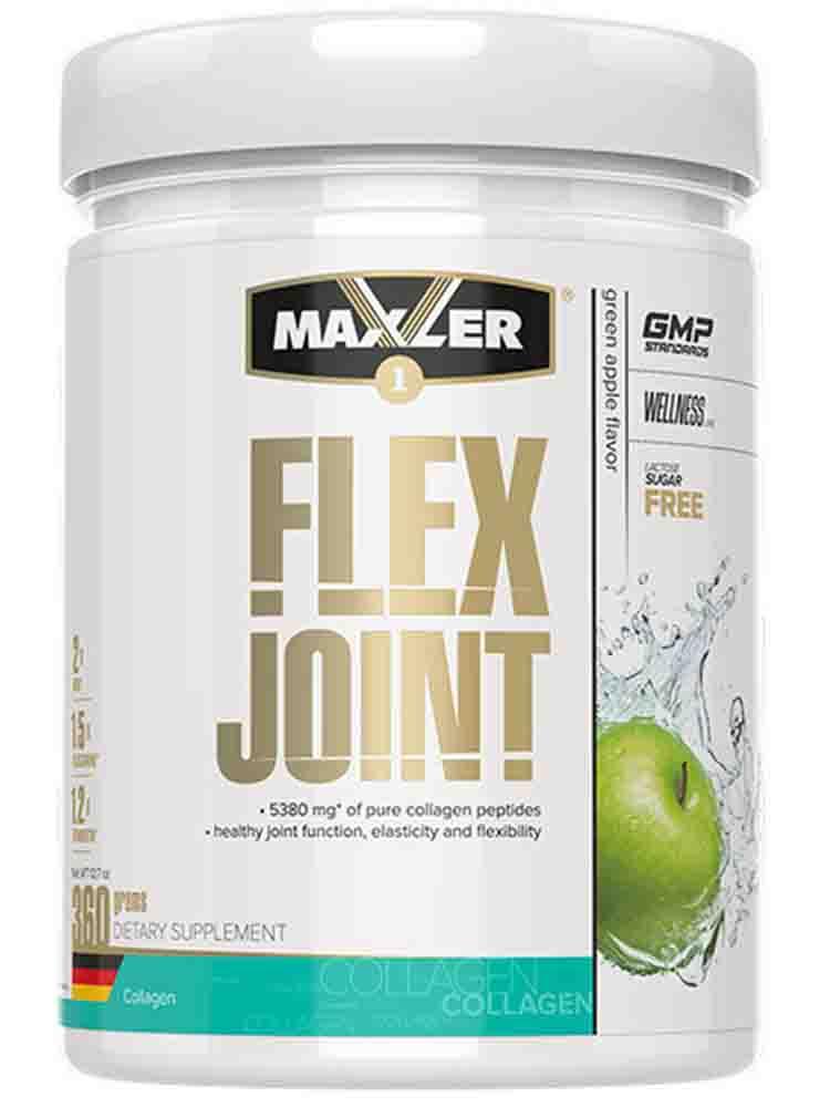 Витамины и БАДы для суставов Maxler Flex Joint 360 гр. зеленое яблоко
