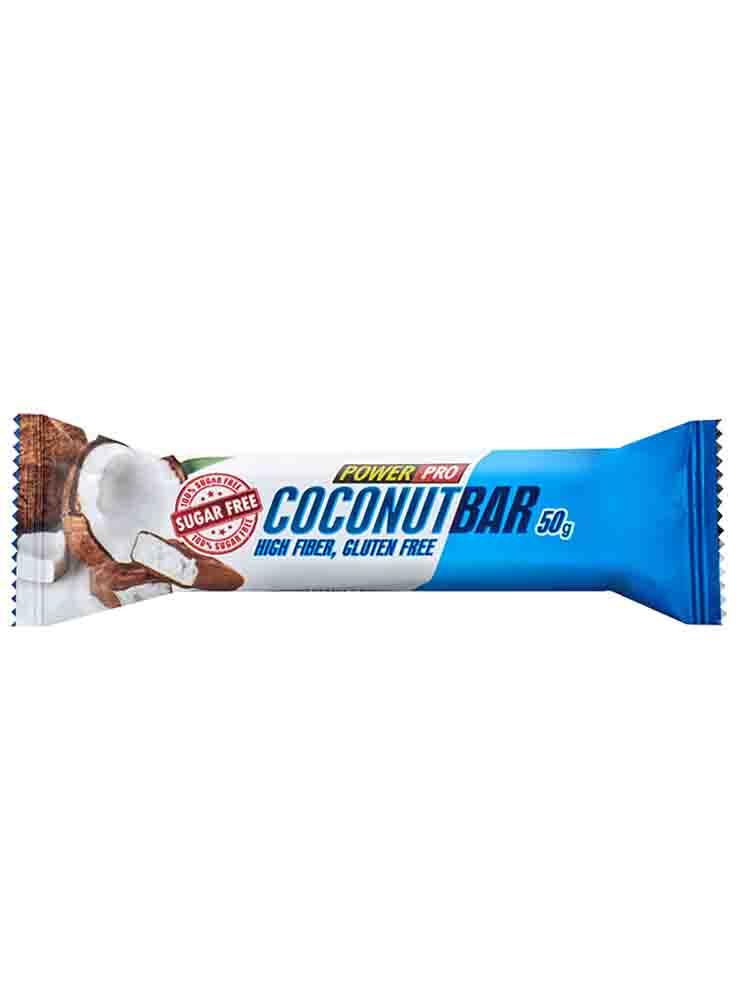 Протеиновые батончики POWER PRO Батончик протеиновый Coconut Bar 50 гр. кокос