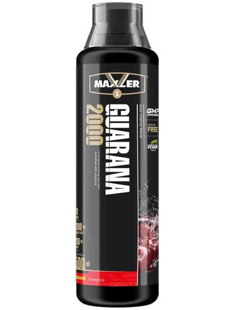 Энергетики Maxler Energy Storm Guarana 2000 Bottle 500 мл. малина