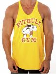 Майка Stone Pitbull Stringer Tank 312 Gold